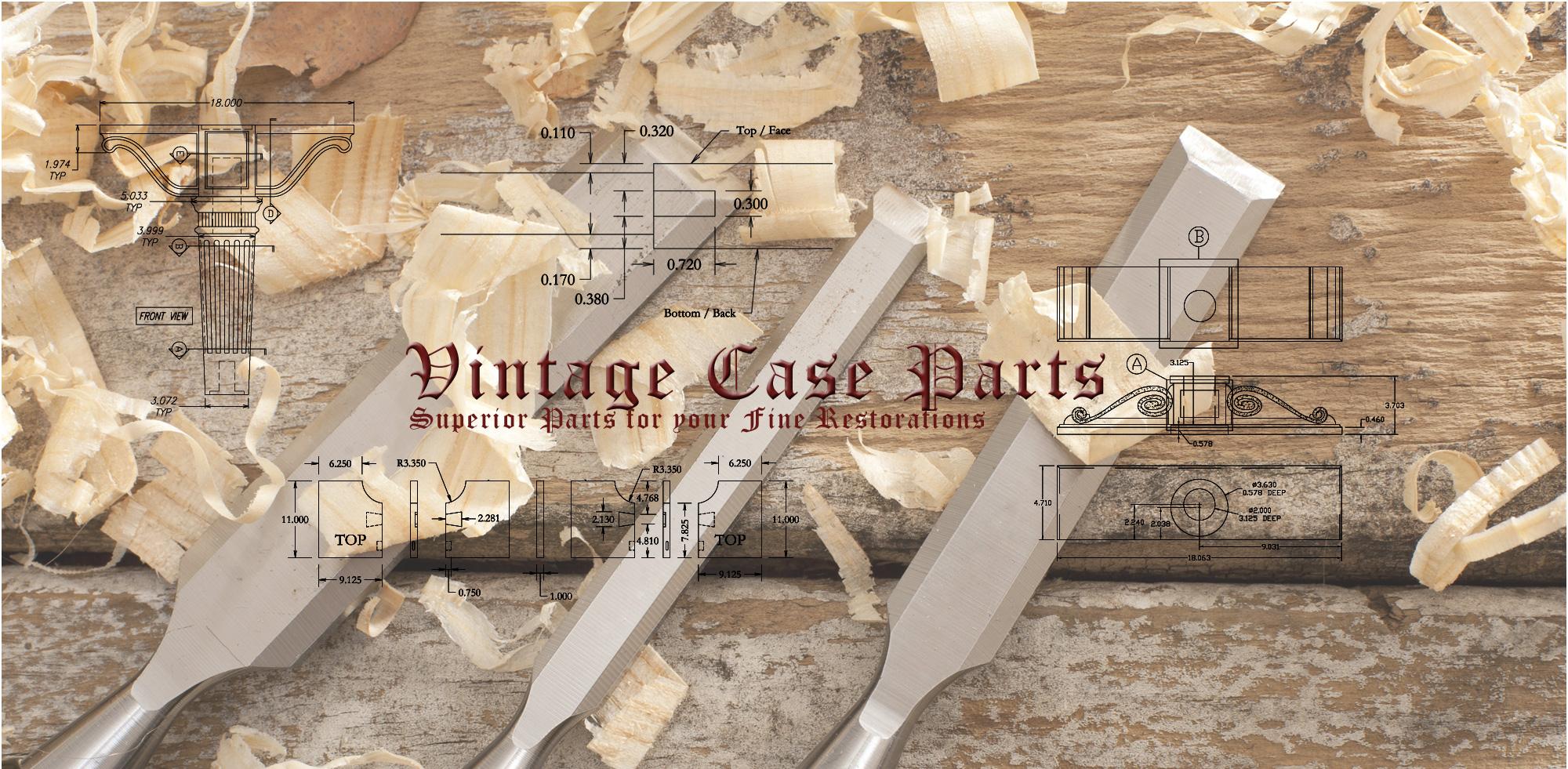 Vintage Case Parts